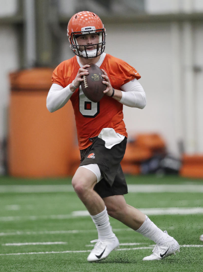 6aa2119cd Mayfield confident QB competition won t divide Browns
