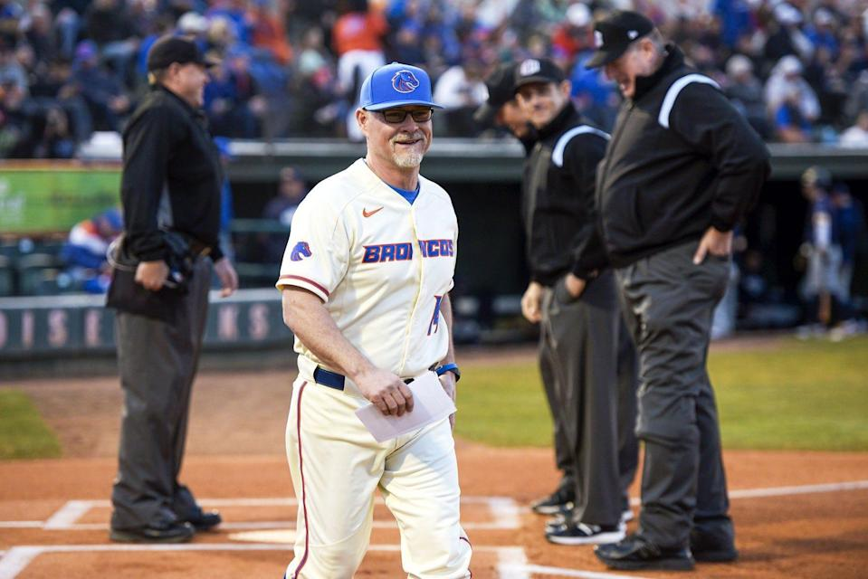 Gary Van Tol coached the Boise State baseball team for 14 games before the program was cut by the school.