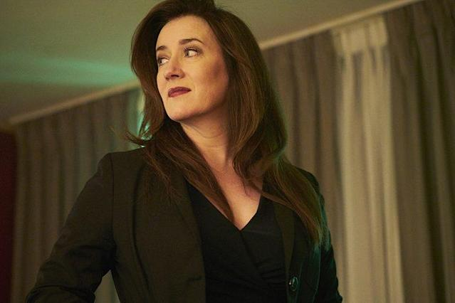 Maria Doyle Kennedy as Mrs. S in <em>Orphan Black.</em> (Photo: Ken Woroner/BBC America)