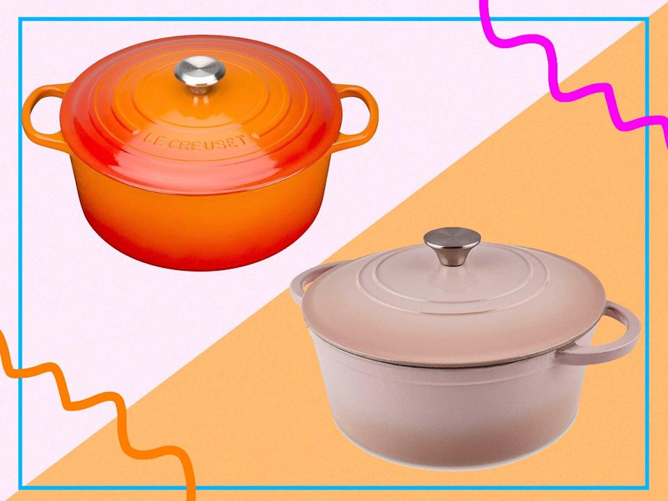 <p>Otherwise known as French ovens, Le Creuset has been going for almost 100 years</p> (IndyBest)