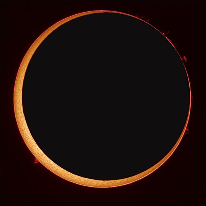 """An eclipse of the """"circle of fire"""" will sweep the Earth"""