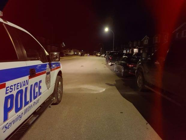 The Saskatchewan Police Commission is conducting a broad inquiry into the Estevan Police Service.  (Estevan Police/Twitter - image credit)