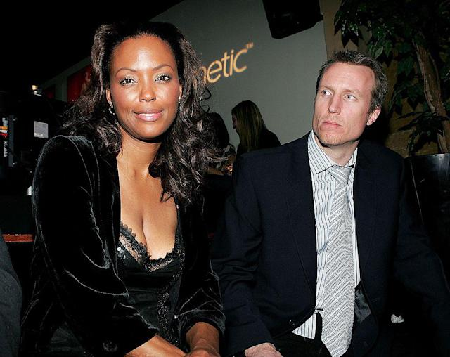 Aisha Tyler and Jeff Tietjens in 2006. (Photo: Getty Images)
