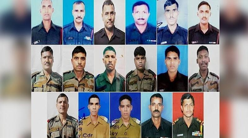 4 Years of Uri Attack: Remembering the Martyrs Whom India Lost on This Day, Here Are the Names of Indian Soldiers Who Died in the Terror Attack