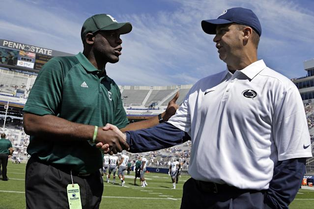 Hackenberg, Penn St tops Eastern Michigan, 45-7