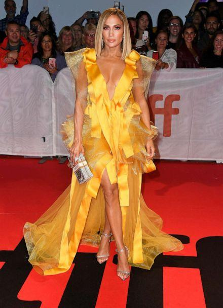 PHOTO: Jennifer Lopez attends the 'Hustlers' premiere during the 2019 Toronto International Film Festival at Roy Thomson Hall on Sept. 7, 2019 in Toronto. (Frazer Harrison/Getty Images)