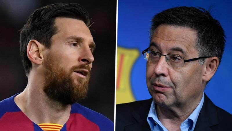 Under-fire Bartomeu insists Messi will end his career at Barcelona amid transfer talk