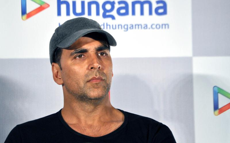 ndian Bollywood actor Akshay Kumar looks on during the promotion for the forthcoming Hindi film ...Housefull 2... in Mumbai late March 30, 2012. AFP PHOTO/STR