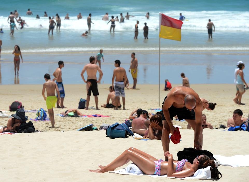 Large parts of Queensland will endure sweltering temperatures on Monday. Source: AAP