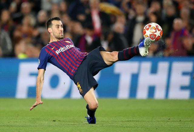 Sergio Busquets has spent his entire career at the Nou Camp