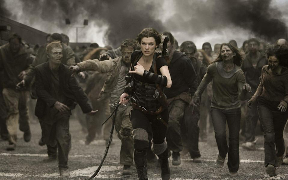 Milla Jovovich has led the Resident Evil franchise on the big screen for years - RAFY