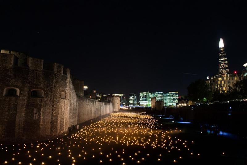 The event at the Tower of London is entitled Beyond the Deepening Shadow (MoD)