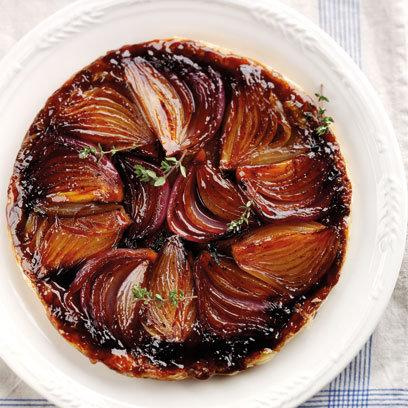 Onion Tart Tatin: Recipes