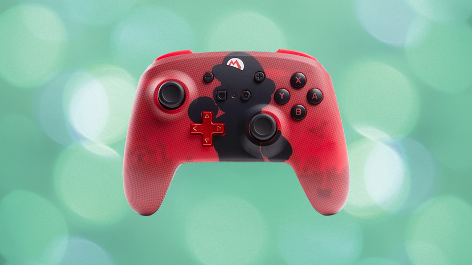 This Nintendo Switch wireless controller featuring your favorite Mario is now nearly 25 percent off. (Photo: PowerA)