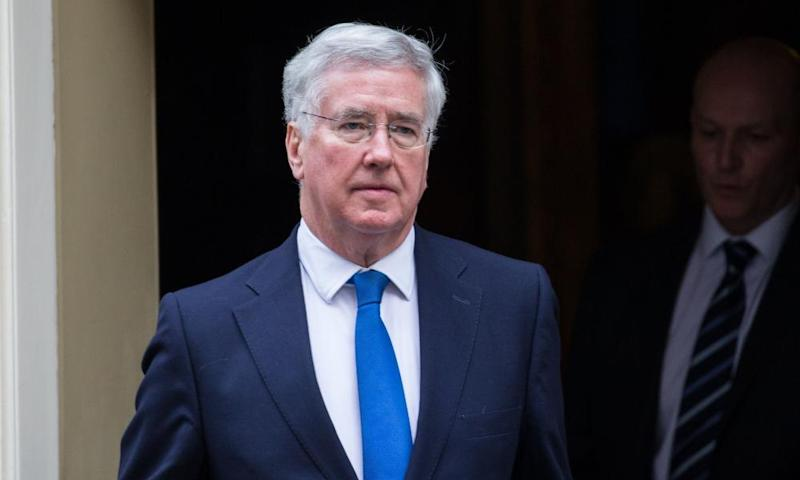 Michael Fallon, the defence secretary, is supporting the creation of a small EU military command centre.