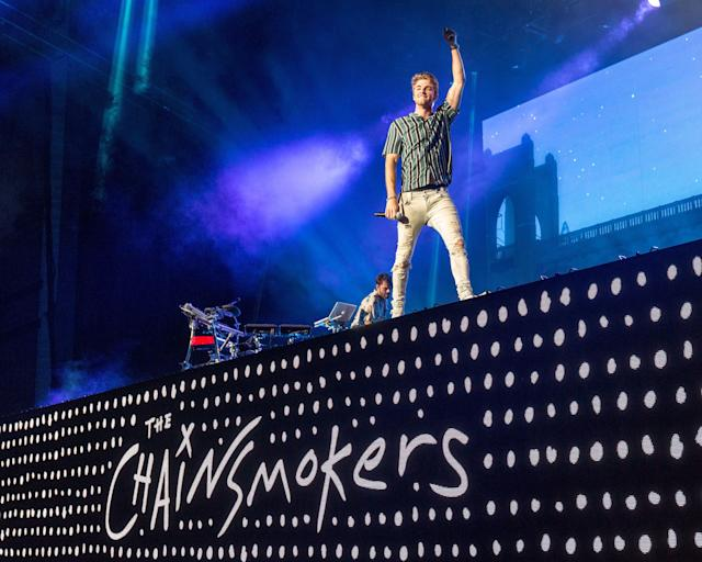 <p><strong>No. 3: The Chainsmokers</strong><br><strong>Earnings this year: $38 million</strong><br>The American electronic duo behind hits such as <em>Closer</em> and <em>Paris</em> made the list for the first time this year, and <em>Forbes</em> reports they signed a three-year deal with Wynn Nightlife in Las Vegas.<br><br>(Canadian Press) </p>