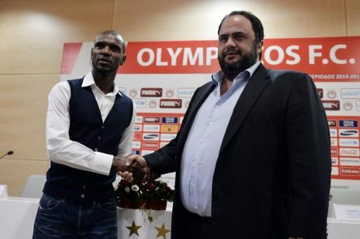 "<p>Olympiakos owner steps down for ""few months"" to fight corruption charges</p>"