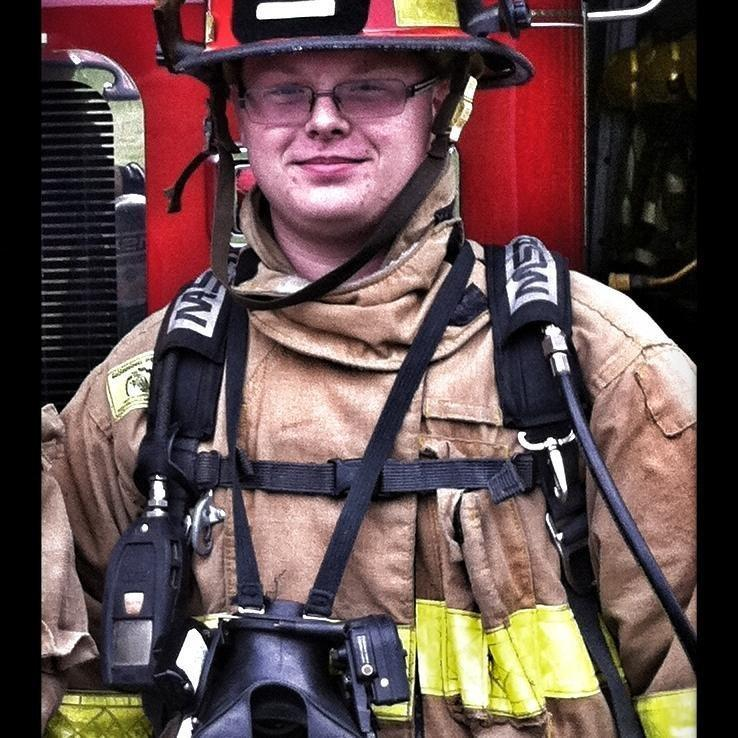 A fire department in Franklin Township, Ohio, has suspended Tyler Roysdon for his racist Facebook post.