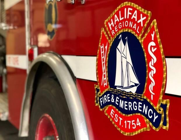 Halifax Regional Fire and Emergency were called to the scene around 11:30 p.m. Friday. (Craig Paisley/CBC - image credit)