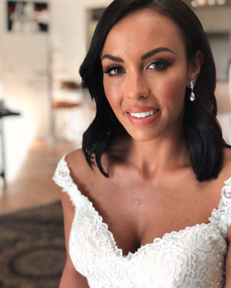 Natasha Spencer in Married at first Sight wedding dress