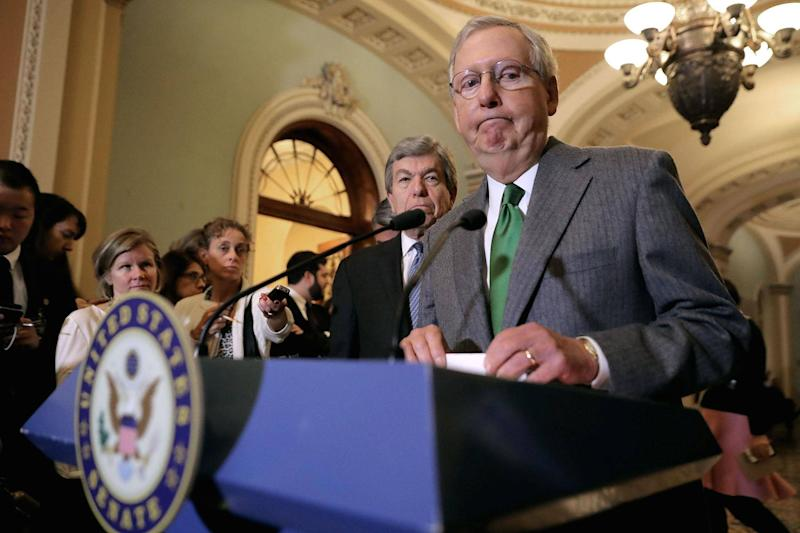Senate Majority Leader Mitch McConnell (Photo by Chip Somodevilla/Getty Images): Getty Images