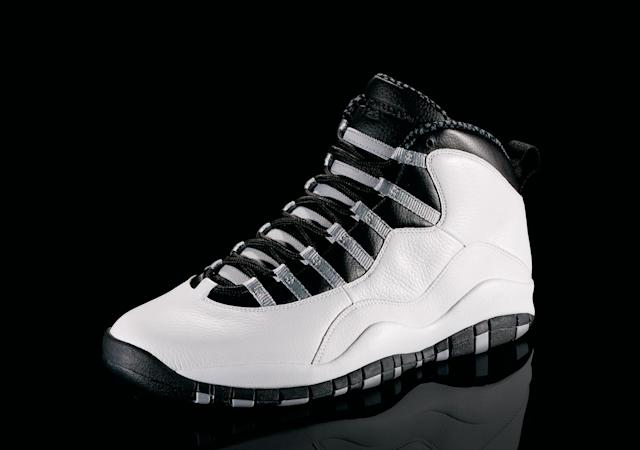 "<p>Air Jordan X - ""The Legacy Continues"" (1995): Despite his retirement, the shoe continues. On the sole of the Xs is a list of Jordan's accomplishments. (Photo Courtesy of Nike)</p>"