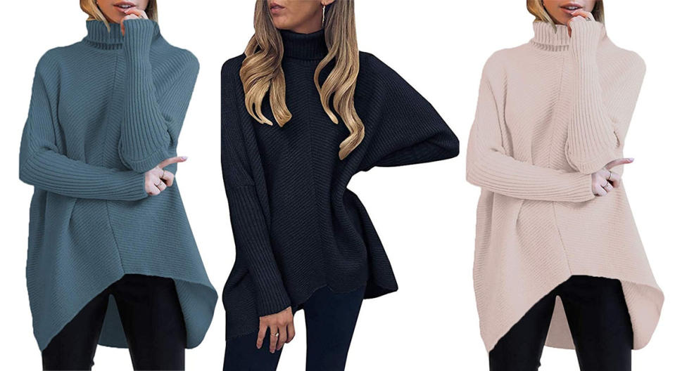The Anrabess sweater comes in colors for every style, mood or outfit. (Photo: Amazon)