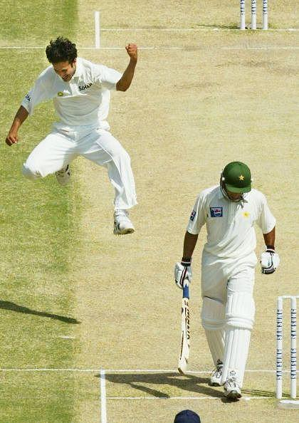 Pakistan v India - First Test Match, Day 3