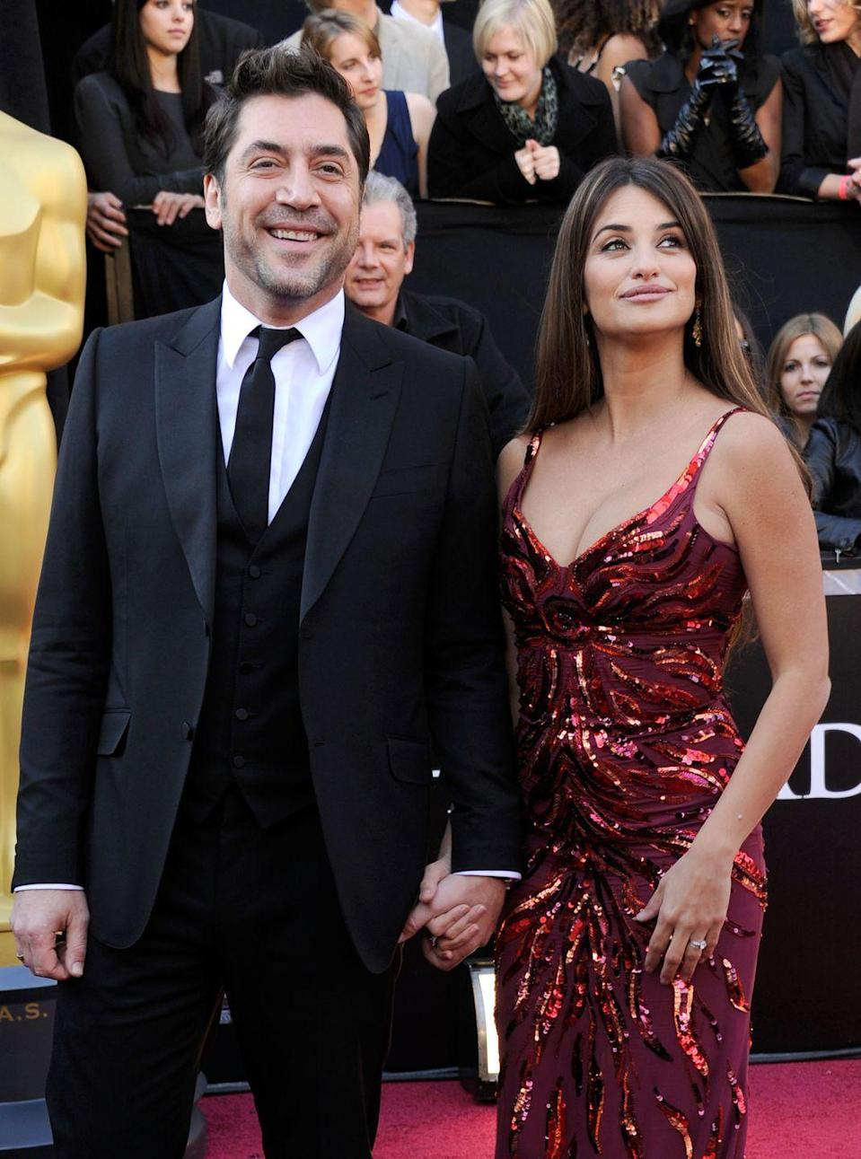 """<p><strong>How long they've been together: </strong>They reportedly began dating in 2007 and married in 2010 in the Bahamas. You decide for yourself: with two beautifully thick Spanish accents, two Oscars, and two adorable children (we can only assume...the paparazzi has left the kids alone for the most part) between them, it's safe to say they qualify as <em>really</em> cute.<br></p><p><strong>Why you forget they're together: </strong>After having her son, Leo, in 2011, Cruz, told <a href=""""http://www.vogue.com/865440/the-dream-life-of-penelope-cruz/"""" rel=""""nofollow noopener"""" target=""""_blank"""" data-ylk=""""slk:Vogue"""" class=""""link rapid-noclick-resp"""">Vogue</a>: """"I want my son—and my kids if I have more—to grow up in a way that is as anonymous as possible."""" Cruz and Bardem have taken this seriously: They welcomed a second child, daughter Luna, in 2013 to minimal fanfare.<br></p>"""