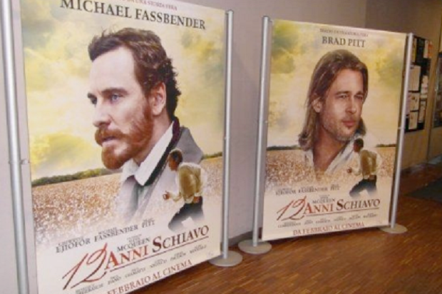'12 Years a Slave' Posters Featuring Brad Pitt, Michael Fassbender Will Be Taken Down