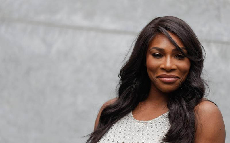 Serena Williams, who asked for advice on breastfeeding this week - Copyright 2016 The Associated Press. All rights reserved.