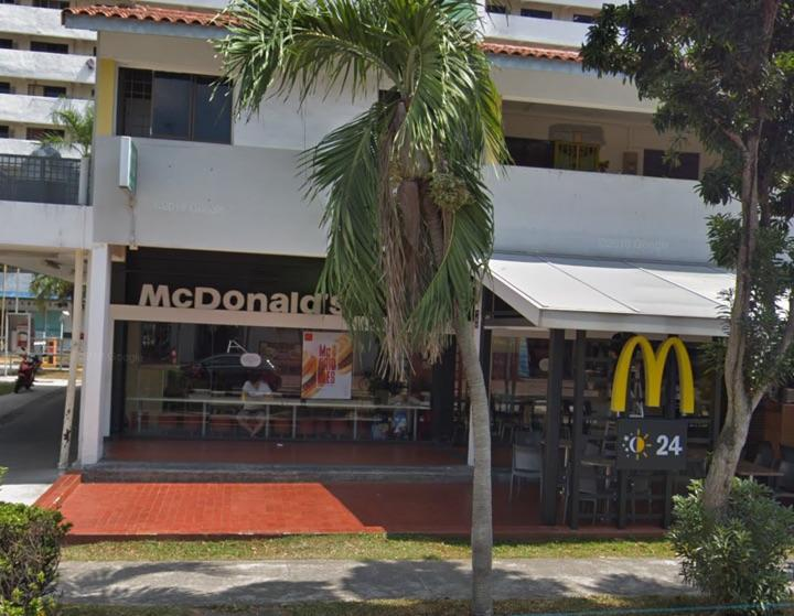 McDonald's outlet at Geylang East Central. (Google Maps Street View)