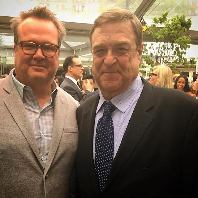 "<p>The<em> Modern Family</em> was pretty excited about meeting John Goodman at the ABC Upfronts in NYC this week. He captioned the snap: ""Well this finally happened."" (Photo: <a href=""https://www.instagram.com/p/BUK_evbD6K3/"" rel=""nofollow noopener"" target=""_blank"" data-ylk=""slk:Eric Stone Street via Instagram"" class=""link rapid-noclick-resp"">Eric Stone Street via Instagram</a>) </p>"