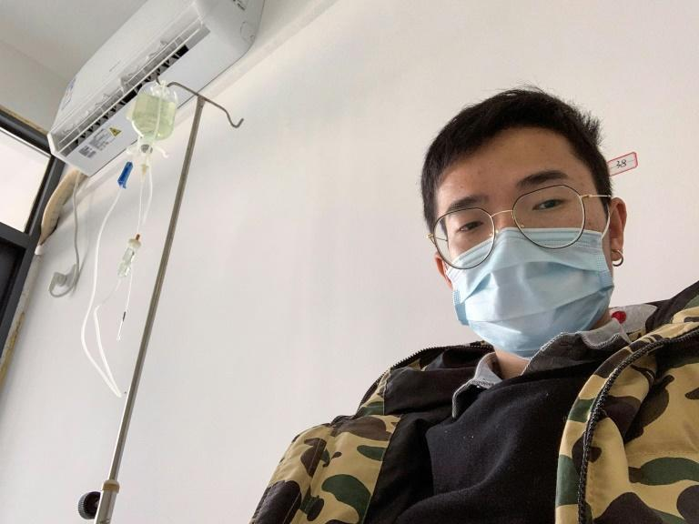 Xiao Yao suspects he caught the new coronavirus on his train journey home to celebrate the Lunar New Year