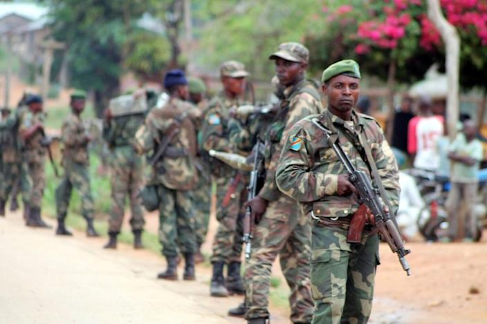 Democratic Republic of Congo soldiers clashed with rebels, killing a rebel leader, authorities say (AFP Photo/Alain Wandimoyi)