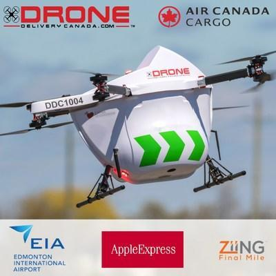 DRONE DELIVERY CANADA ANNOUNCES MULTIPLE AGREEMENTS FOR PROJECT AT EDMONTON INTERNATIONAL AIRPORT (CNW Group/Drone Delivery Canada Corp.)