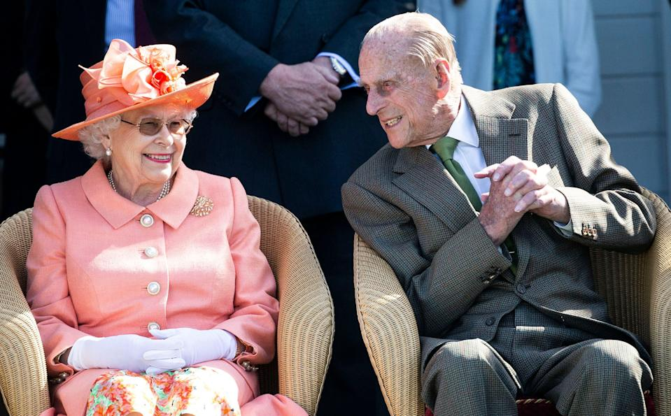<p>Guests of honour: the Queen and the Duke of Edinburgh</p> (David Hartley/Shutterstock)