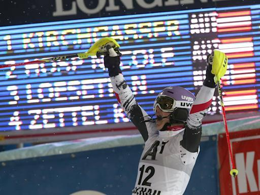 Hoefl-Riesch leads downhill training ahead of Maze