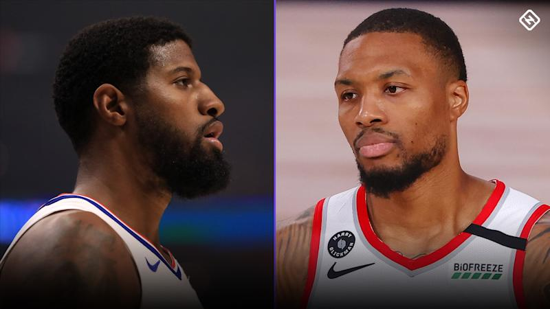 Paul George tried to 'clear the air' with Damian Lillard after family got involved in feud