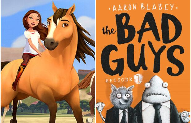 'Spirit Riding Free' and 'The Bad Guys' Animated Movies Set at DreamWorks and Universal