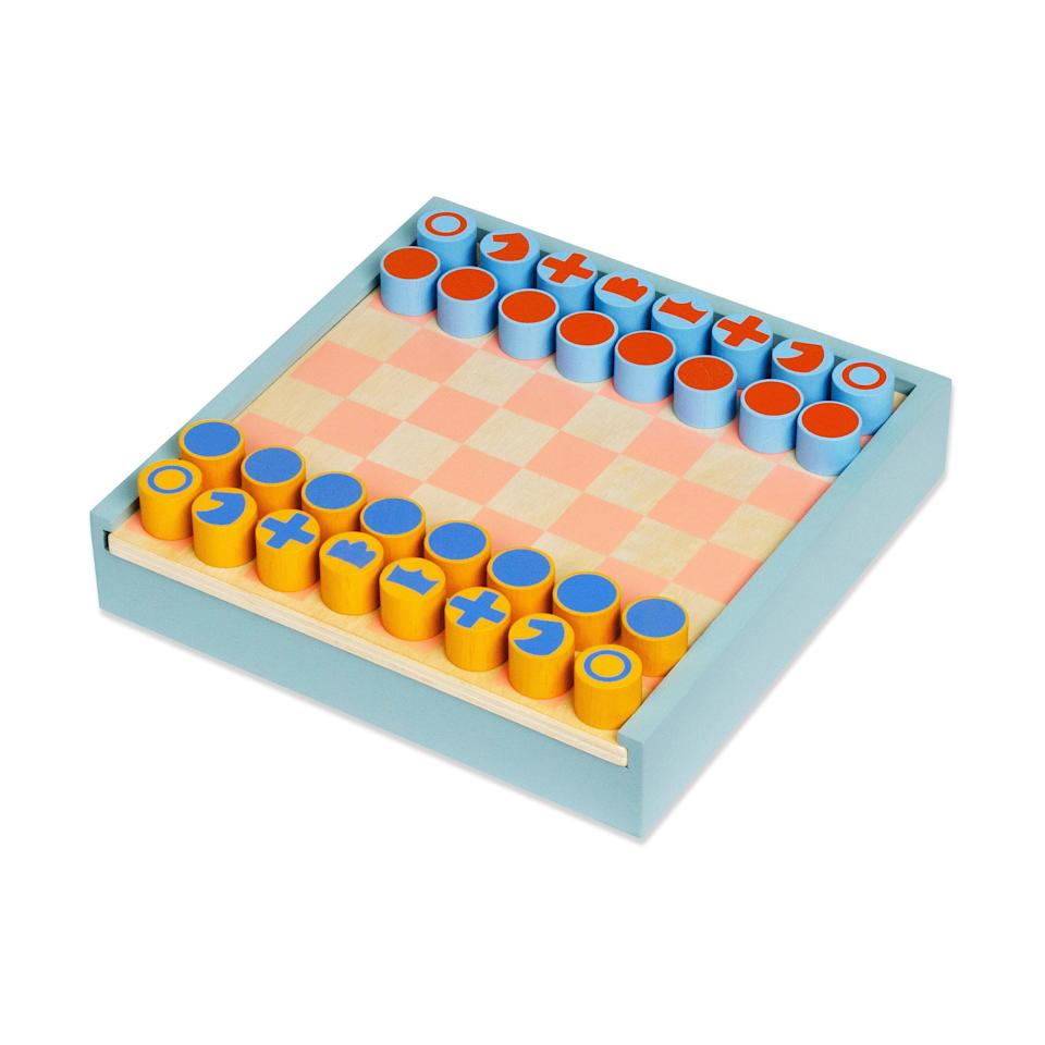 "<p>moma.org</p><p><strong>$55.00</strong></p><p><a href=""https://store.moma.org/kids/toys-games/2-in-1-chess-checkers-set/13124-152858.html"" rel=""nofollow noopener"" target=""_blank"" data-ylk=""slk:Shop Now"" class=""link rapid-noclick-resp"">Shop Now</a></p>"