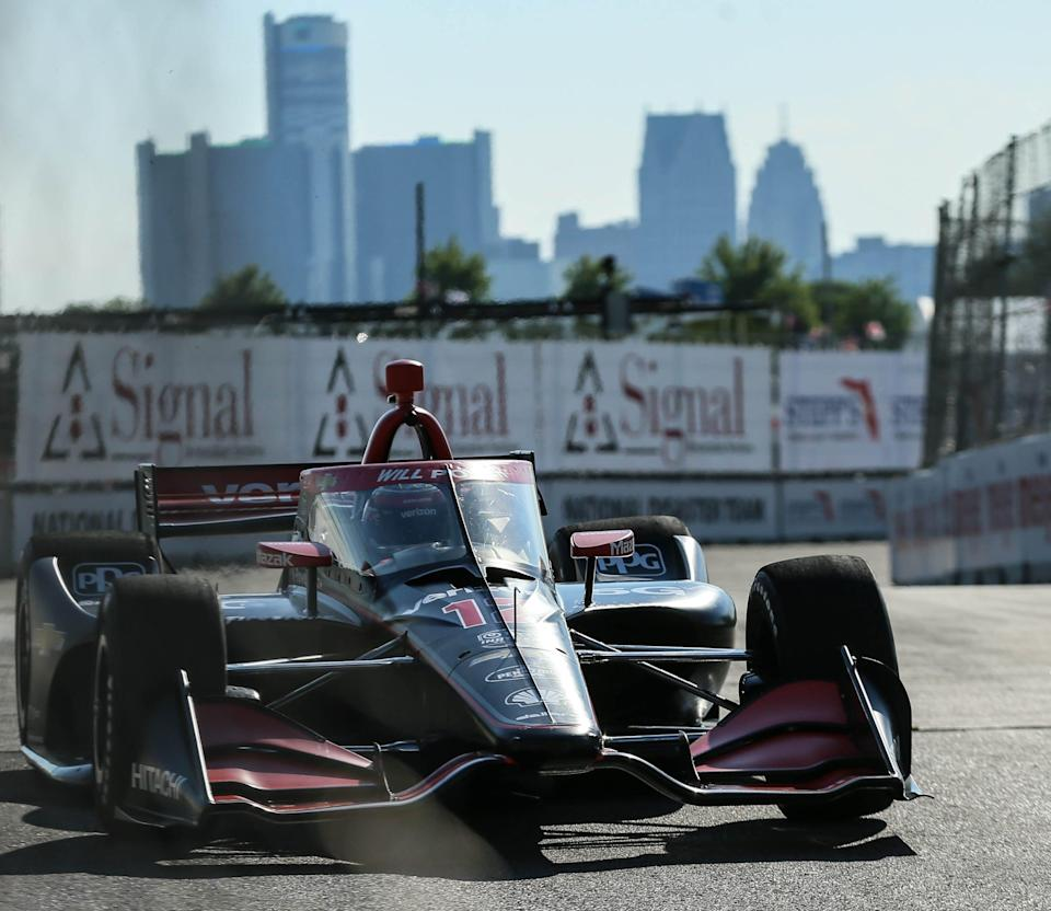 <em>Will Power turned the fastest lap Friday in practice for the Chevrolet Detroit Grand Prix (Rodney Coleman-Robinson/Detroit Free Press/USA TODAY Sports Images).</em>
