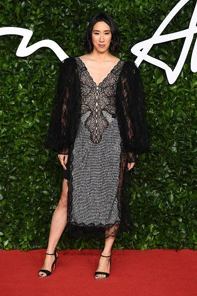 Chen attends the 2019 British Fashion Awards in Christopher Kane (Getty Images )