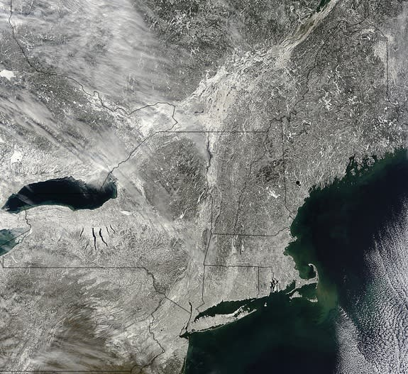 Northeast Snowstorm Officially Was 'Major'