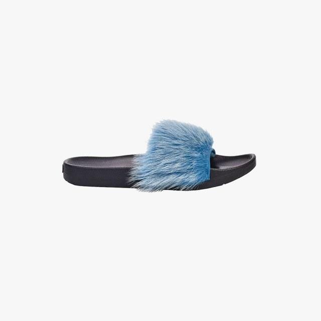 Royale Tipped slides, $80