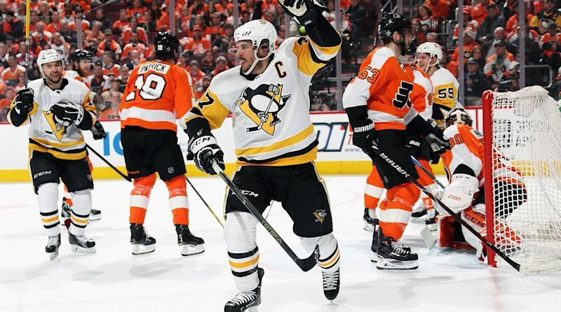 Stanley Cup Playoff Roundup: Crosby, Penguins Put Flyers on Brink of Elimination With Game 4 Win