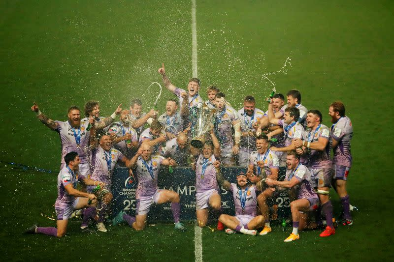 European Champions Cup Final - Exeter Chiefs v Racing 92