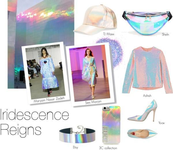 NYFW Trend: Iridescence Reigns