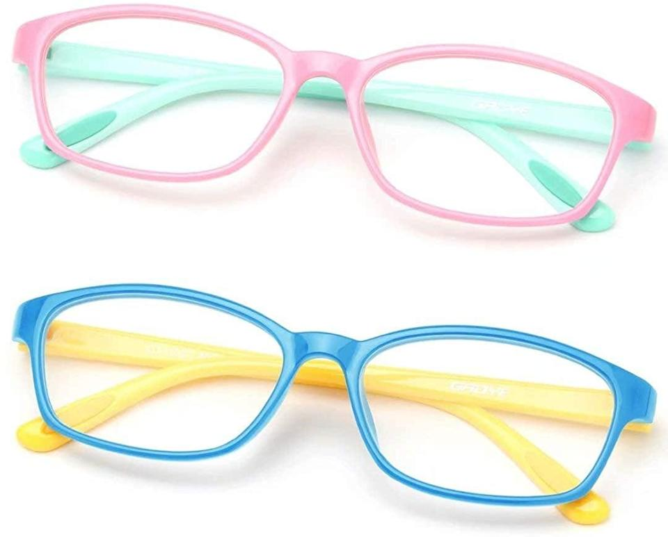 <p>These <span>Gaoye Blue Light Blocking Glasses</span> ($15) not only spark joy, but they'll also make your little ones feel super cool.</p>