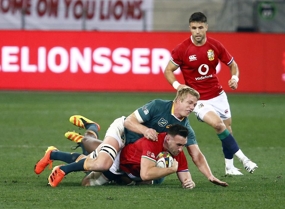 South Africa flanker Pieter-Steph du Toit has been ruled out of the third Test by a shoulder injury (Steve Haag/PA) (PA Wire)